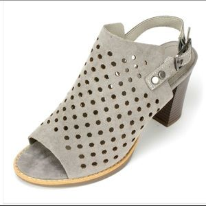 White Mountain Glorielle perforated sandals